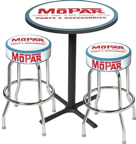 Black Parts In Stool mopar parts lifestyle products home and office decor stools classic industries
