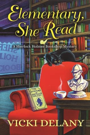 on baker a sherlock bookshop mystery books elementary she read by vicki delany