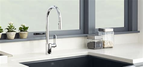 Isle Contemporary Kitchen Faucet Collection from DXV