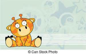 caricatura lindo beb 233 jirafa vector de stock 169 tigatelu beb 233 lindo jirafa caricatura lindo vector