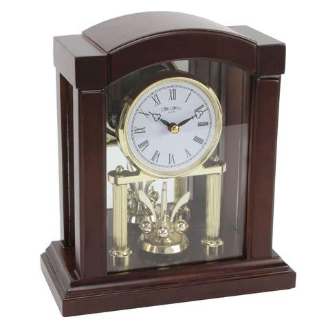 arch top wooden anniversary mantle clock revolving pendulum mantel clocks gift ebay
