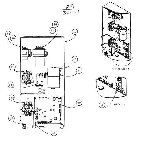 carrier air conditioner parts diagram panel diagram parts list for model