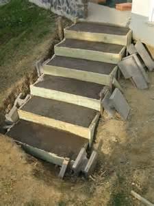 treppe mauern anleitung die besten 17 ideen zu terrassen treppe auf