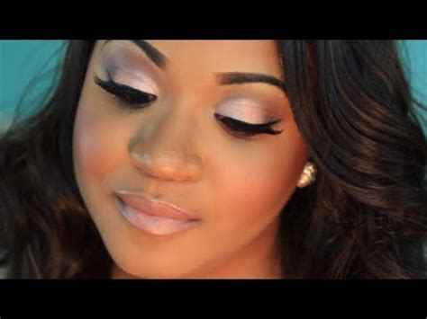 mac makeup tutorial natural neutral wedding makeup with pop of color youtube