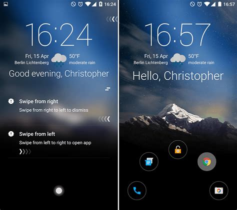 12 best android lock screen apps and widgets to reinvent your phone androidpit - Best Android Lock Screen