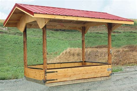 cattle hay feeder plans woodworking projects plans