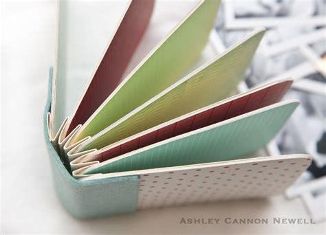 tutorial scrapbook akordion mini album monday accordion book bound book and