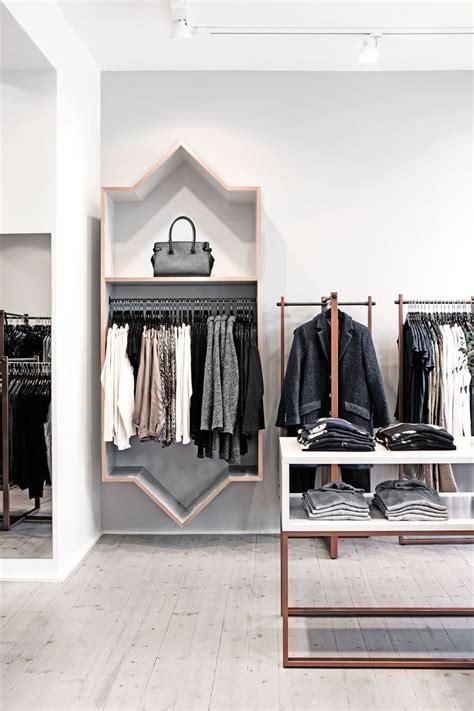 helle flou designed  interior    clothing shop