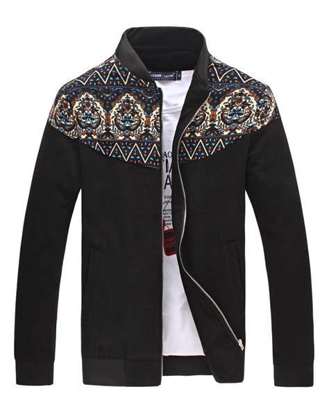 Patchwork Jacket Mens - pattern patchwork wool jacket coat mens floral hoodie