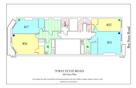 bu housing floor plans 79 bay state road 187 housing boston university