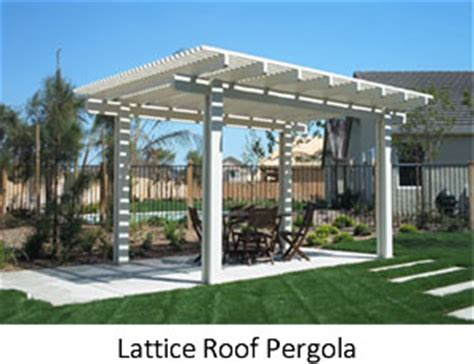 lattice pergola roof pergolas and patio covers forever greens