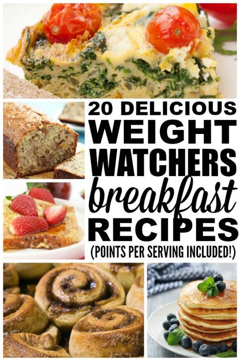 weight watchers start recipes weight watchers breakfast recipes