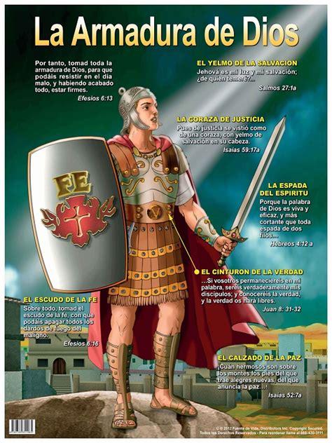 el cristiano con toda poster la armadura de dios