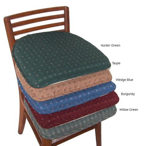 Kitchen Chair Cushions Non Slip by Dash Foam Non Slip Chair Pad Set Set Of 4 Reviews