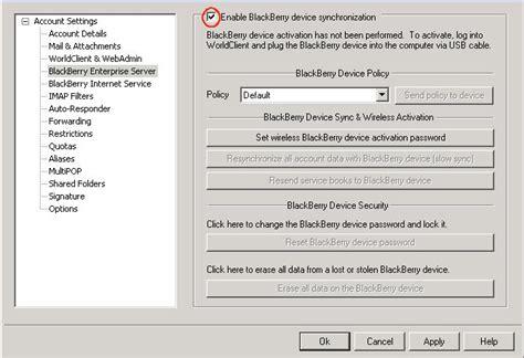 reset blackberry enterprise blackberry enterprise server bes activation on your