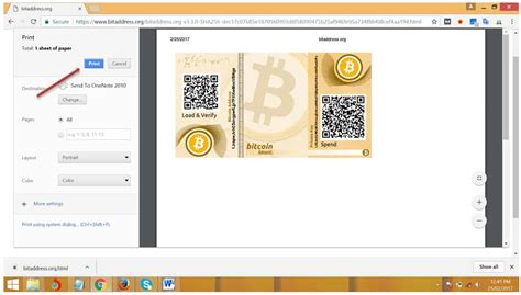 How To Make A Paper Bitcoin Wallet - how to make a bitcoin paper wallet how to spend bitcoins