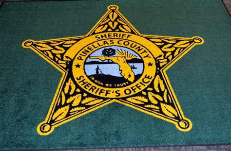 Pinellas Sheriff S Office by Pinellas County Sheriff S Office Rug In We Trust