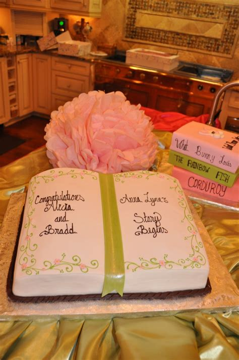 book themed cakes storybook baby shower book cakes cake and babies