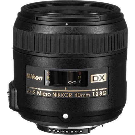 nikon af s dx micro nikkor 40mm f 2 8g lens 2200 b h photo