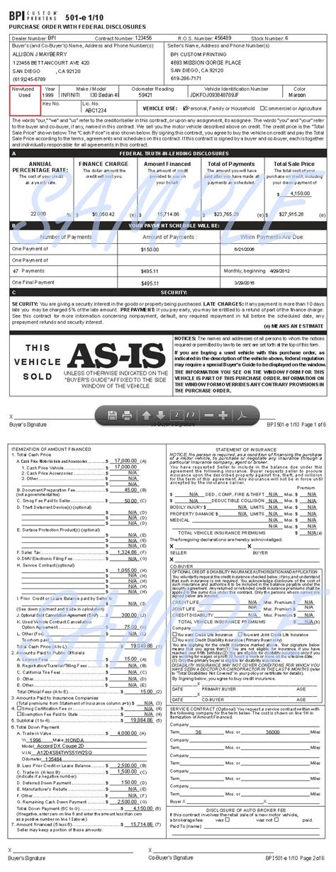 is a purchase order a legal document
