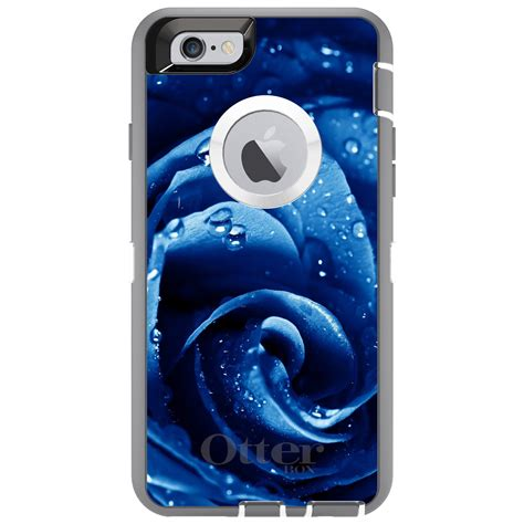 Casing Hp Iphone 6 6s Blue Call Box Tardis Custom Hardcase Cove custom otterbox defender for iphone 6 6s 7 plus blue dew covered ebay
