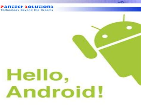 android software development kit getting started with android software development