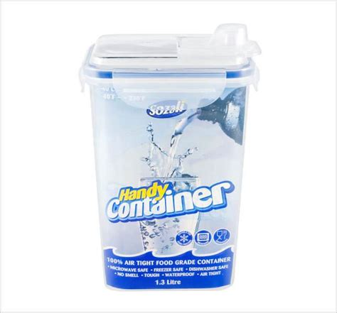 Box Container 50 Liter Kontainer Ada Roda small medium large size clip handle plastic clear food