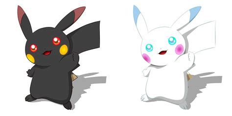 Pikachu Back pikachu black and white renders by helenha on deviantart