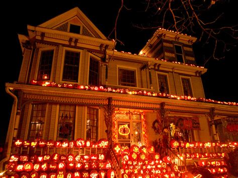 pumpkin house midnight in the garden of evil the pumpkin house