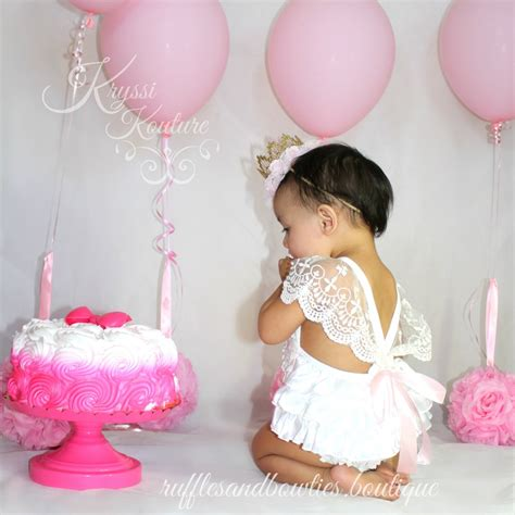 cute themes for baby first birthday customer favorite quot amy white vintage first birthday white