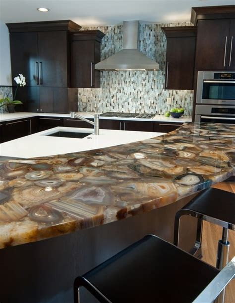 Semi Precious Countertops by Luxury Semi Precious Countertops Bay Area California