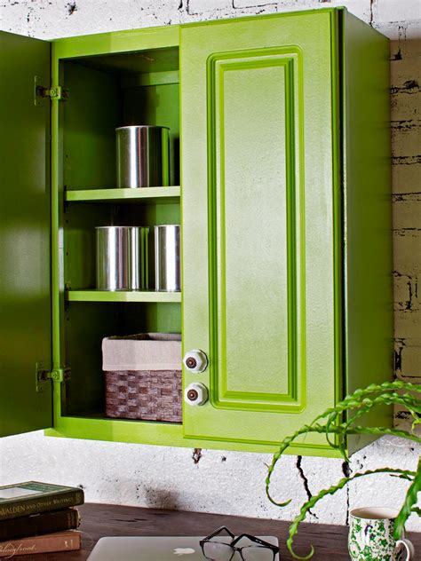Painted Kitchen Cabinet Doors How To Paint Kitchen Cabinets With A Sprayed On Finish How Tos Diy