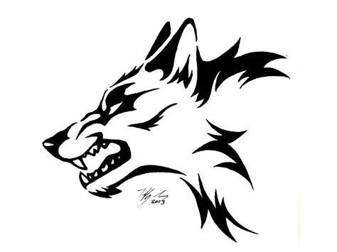tribal wolves tattoos 60 tribal wolf tattoos designs and ideas
