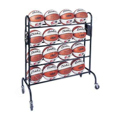 Basketball Holder Rack by Sure 462 Basketball 16 Storage Trolley Rack