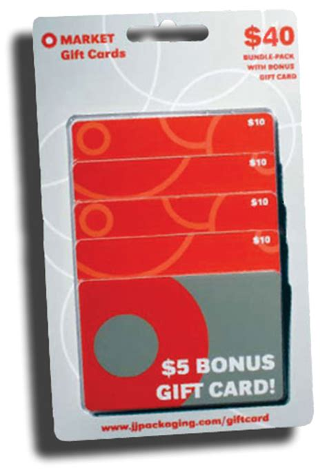 j j packaging announces first five card bonus multipack - Multipack Gift Cards
