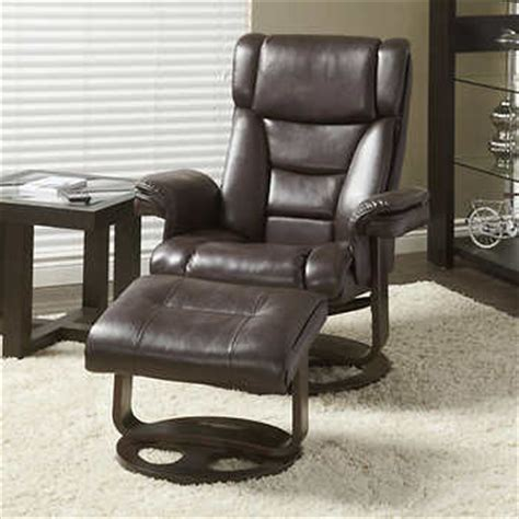 Leather Chair With Ottoman Costco by Griffith Recliner With Ottoman