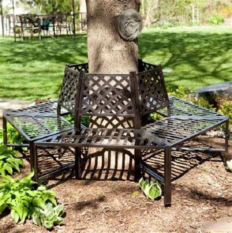 wrought iron tree bench garden furniture park bench wrought iron antique french tree wrap out