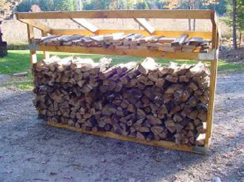 Build Firewood Rack by Wood Rack Plans Building A R Before Storage Shed Plans