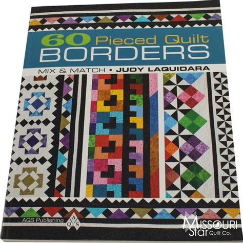 Pieced With Quilt Shop by 60 Pieced Quilt Borders Book Softcover American