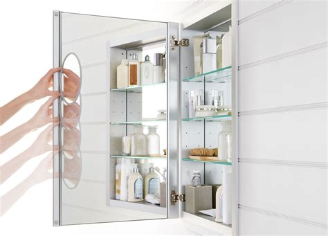 kohler lighted medicine cabinet verdera medicine cabinets bathroom products