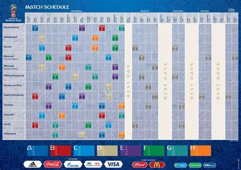 Calendario World Cup 2018 Russia 2018 Il Calendario Delle Partite