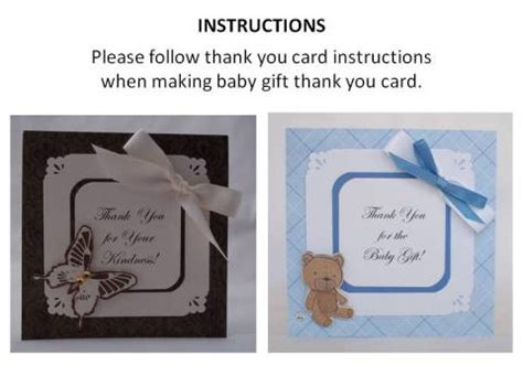 Thank You For Baby  Ee  Gift Ee   With Many Cute Examples Of