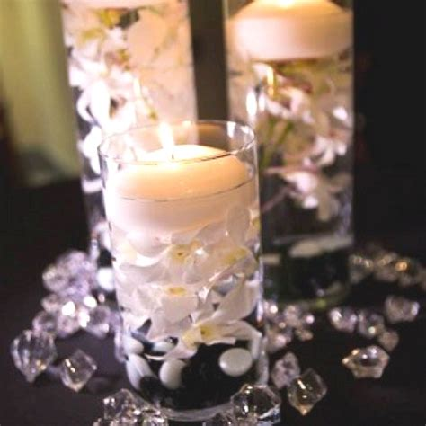 wedding centerpiece ideas dollar store cases pearls fake