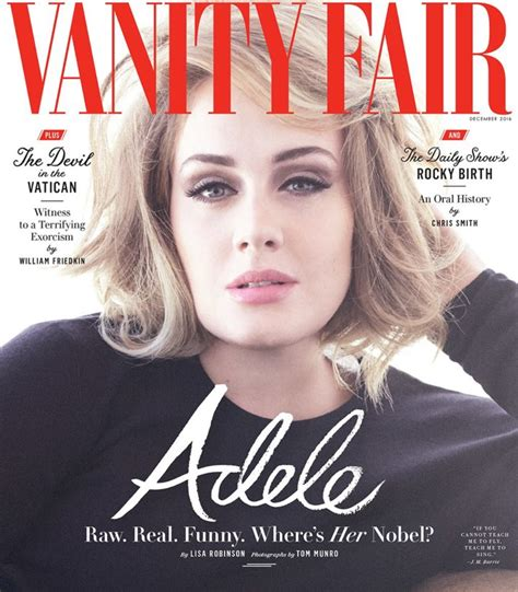 New Vanity Fair Cover by Adele Vanity Fair Thatgrapejuice That Grape Juice