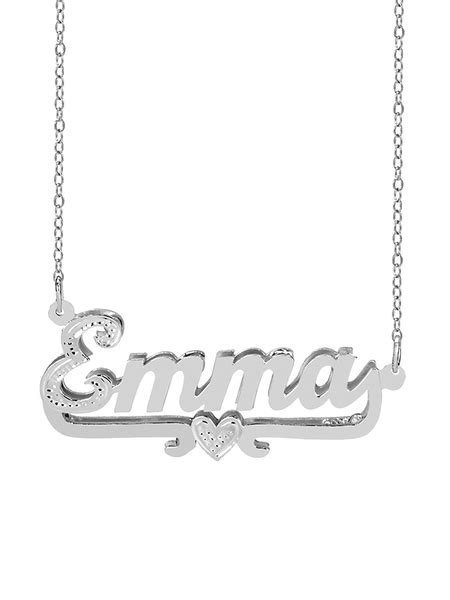 Jay-Aimee Designs - Personalized Sterling Silver or 14K