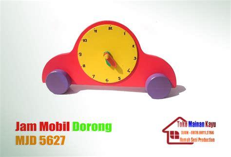Mainan Edukasi Jam Mobil jam mobil dorong toko mainan kayu