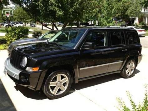 Jeep Patriot 2008 Mpg Find Used 2008 Black Jeep Patriot Limited 4x4 Great