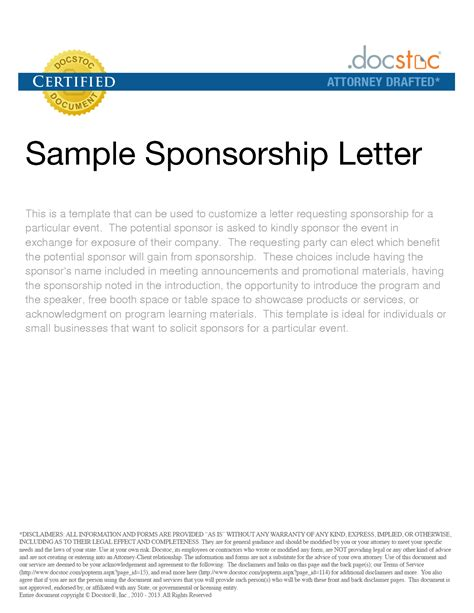 Sponsorship Letter For Lucky Draw sle letter request for sponsorship for annual dinner