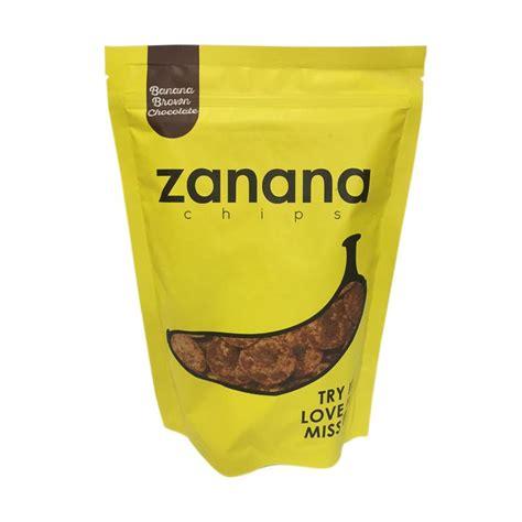 Zanana Chips Jual Daily Deals Zanana Chips Pisang Kripik Brown Chocolate Harga Kualitas