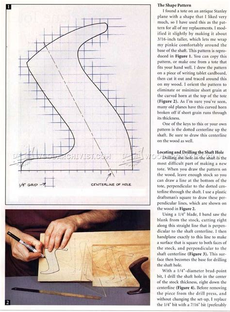 replacing  hand plane tote hand tools tips  techniques tool pinterest hand